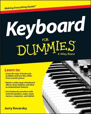 Keyboard for Dummies By Kovarsky, Jerry