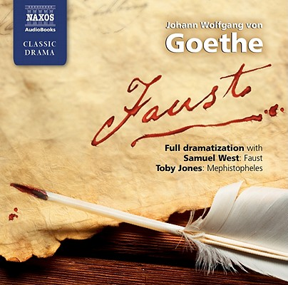 [CD] Faust By Goethe, Johann Wolfgang Von/ West, Samuel (NRT)/ Jones, Toby (NRT)